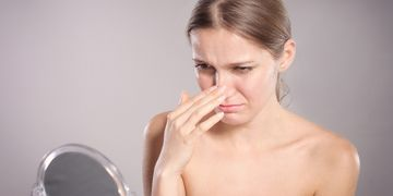 Unerwünschte Ergebnisse nach einer Nasenkorrektur