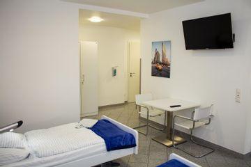 Mannheimer Klinik Patientenzimmer 06