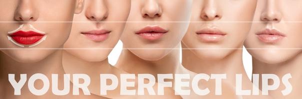 Wie sehen ihre perfekten Lippen aus?