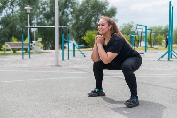 Sport kann helfen die Gesäßmuskulatur zu stärken