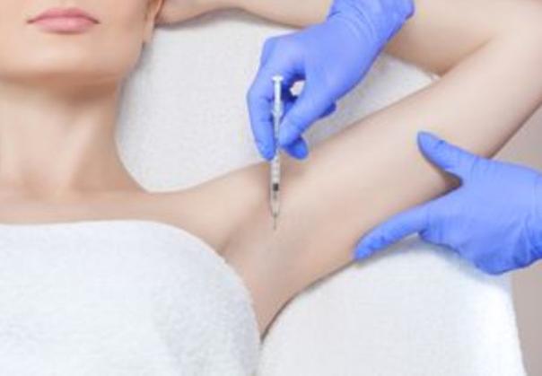 Eine der wirksamsten Methoden zur Behandlung von Hyperhidrose ist die Injektion von Botox