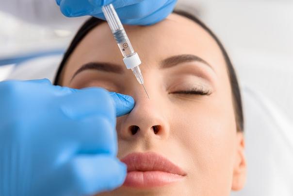 Mit Hyaluronsäure kann die Nase beliebig modelliert werden