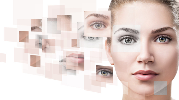 Harmonische Gesichtszüge bilden heutzutage das Idealbild eines Gesichts