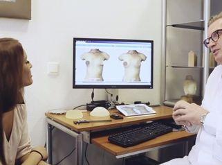 Realistische 3D-Simulation für Brust-OPs in der Noahklinik