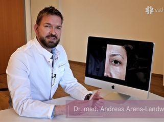 Behandlung von mimischen Falten durch Botox