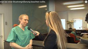 Ästhetische und symmetrische Brüste - Prof. Dr. med. Frank-Werner Peter