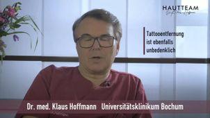 Picosekundentechnologie und Tattooentfernung Dr. med. Klaus Hoffmann