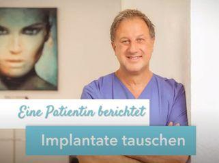 Implantatwechsel nach Brustvergrößerung im Ausland